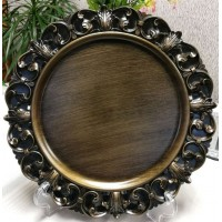 Antique Victorian Style Charger Plate (1-Piece)