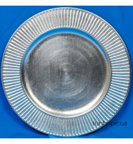 Silver Radiance Charger Plates (24-PK)