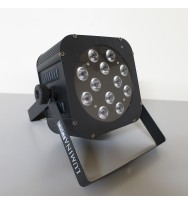 LED 12 Quad RGBW Flat Par Can with IR Remote