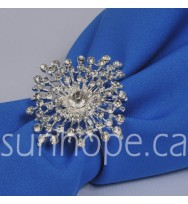 NR030- Silver Star Napkin Ring