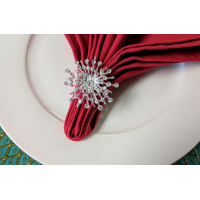 NR30- Snow Star Napkin Ring